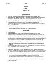 PATH700 Chapter 17 HIV Notes