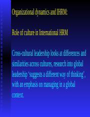 OrganizationalDynamics&