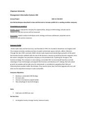 Group Project Assignment and Company Profile.docx