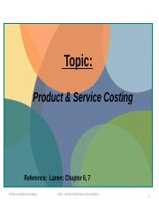 Lec 4 Student  CMA product and Service Costing(4).pptx