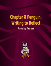Writing to Reflect.ppt