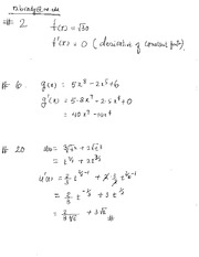 Math 1823 Homework #5 Solutions