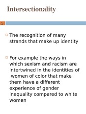 WGSS 1124-Intersectionality