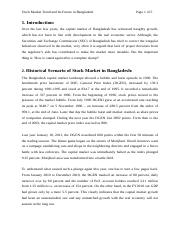 Stock Market Trend and Its Future in Bangladesh.doc