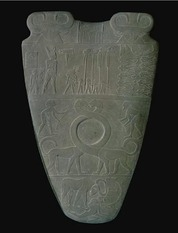 The Palette of Narmer (front)