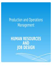 HR & Job Design.ppt