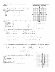 Unit 1 Topical Review Answers - Date UNIT#1 ALGEBRAIC ...