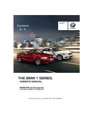 Bmw 1 series manual.pdf