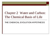 Chapter 2  THE ATOMS AND MOLECULES OF ANCIENT