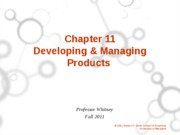 ch 11 New Products student version