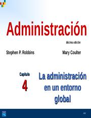 Cap 4 La Administración en un Entorno Global.ppt ... - photo#20