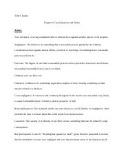 Chapter 6 Case Questions and Terms.docx