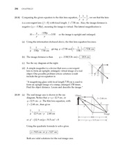 18_Ch 23 College Physics ProblemCH23 Mirrors and Lenses