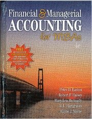 Financial & Managerial Accounting for MBAs (4rd Edition)