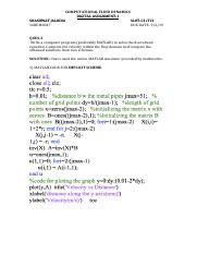 CFD- DA1 SOL pdf - COMPUTATIONAL FLUID DYNAMICS DIGITAL