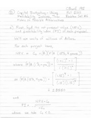 CBmE+195+-+Chemical+Engineering+Economics+-+Problem+Set+_6+Solutions+-+Fall+2010