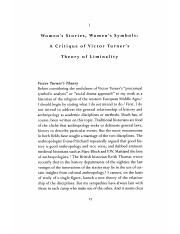 Bynum, Women's Stories, Women's Symbols - A Critique of Victor Turner's Theory of Liminality.pdf