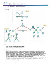 1.2.4.4 Packet Tracer - Representing the Network Instructions (1)