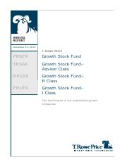 GROWTH STOCK FUND