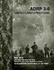 APRP 3-0 UNIFIED LAND OPERATIONS