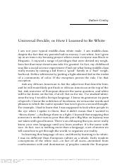 Conley - Universal Freckle or How I Learned to Be White.pdf