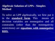 L03_Basic Feasible Solutions of LPPs are corner point solutions