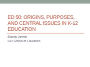 EDUCATION 50: Gender and Education Lecture (Jenner)