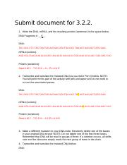submit document for PBS 3.2.2