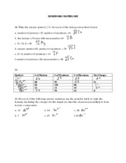 Half-life of radioactive isotopes worksheet answer key Pro Android