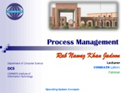 lecture-5-process-management-by-rab-nawaz-jadoon
