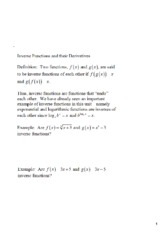 (3)_Inverse_Functions_and_Their_Derivatives