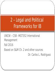 S&M 2 - Legal Systems and Political Country Risk.pptx