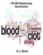Blood Disorders - December 6th.ppt