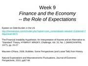 Week 9_2014_Finance and the Economy_Expectations (1)