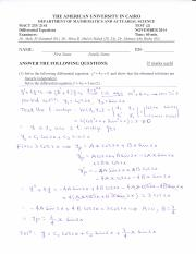 MACT 233_solution_Test (2)_Fall 2014.pdf