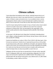 Chinese Culture.docx
