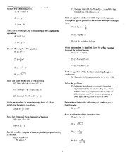 MATH 1324 Review for Test 1