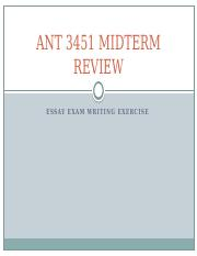 ANT 3451 Midterm Review.pptx
