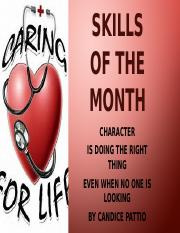 Life Skills of the Month Bulletin Board.pptx