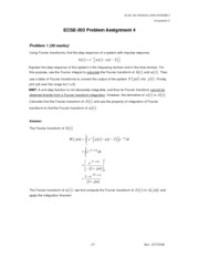 Solution - Assignment 4