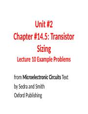 Unit 2 Examples for Lecture 10.ppt