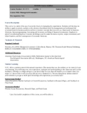 course outline managerial economics jun Answered jun 1, 2018 author has 1k answers and 2006k answer views  this  course provides an overview of economic tools and analytic.