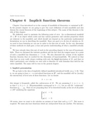 chap06 - implicit function thrm