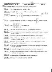 Exam 2 version 2 Solutions