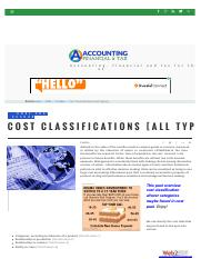 cost-classifications-all-types