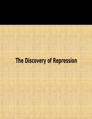 Module 2 (The discovery of repression).ppt