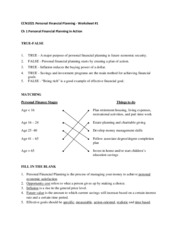Ch 1 worksheet answer