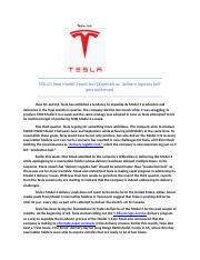 Assign 2-0920- TESLA - SUPPLY CHAIN.docx