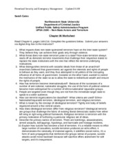 UPSA 2100 Chapter 06 Worksheet