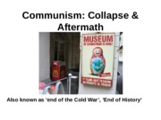 WK 11 Collapse of Communism